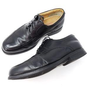 Johnston Murphy Derby Apron Toe 9.5 Wide Shoes